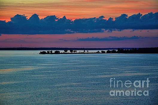 Denison Island Sunset by Diana Mary Sharpton