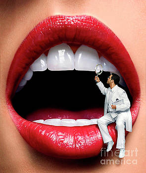 Dentist, conceptual image by Science Photo Library