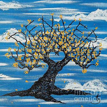 Denver Love Tree by Aaron Bombalicki