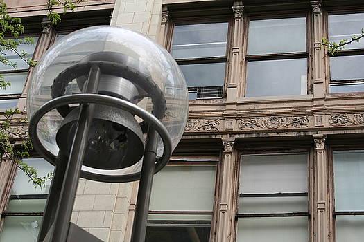 Denver Streetlamp by David S Reynolds