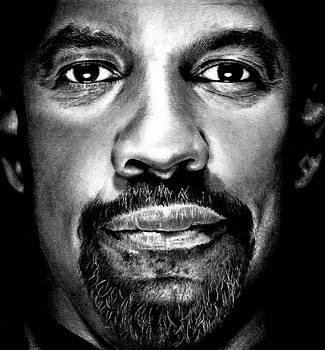 Denzel Washington by Rick Fortson