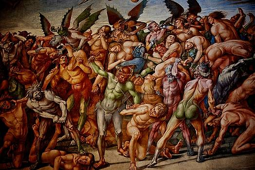 Depiction of Hell by Eric Tressler