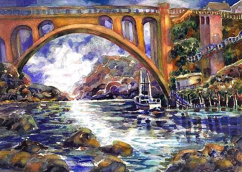 Depoe Bay Bridge by Ann Nicholson