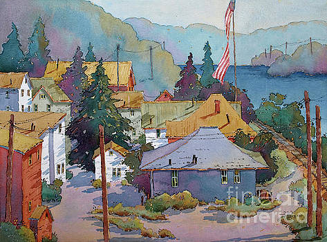 Depot by the River by Joyce Hicks