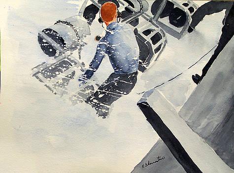Depth charge by Robert Thomaston
