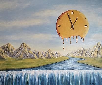 Der Fluss der Zeit by Haike Espenhain