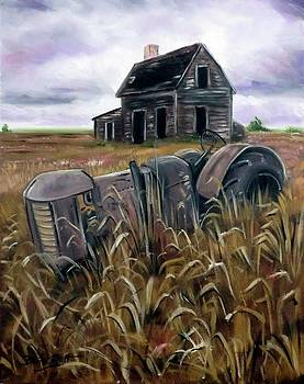 Derek Rutt - Derelict Farm