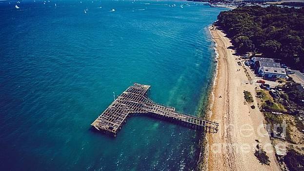 Derelict Railway Pier Isle of Wight by Owen Hunte
