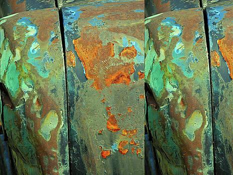 Dereliction of Paint 2 by Lynda Lehmann