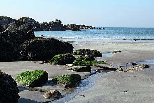 Derrynane Beach by Marie Leslie