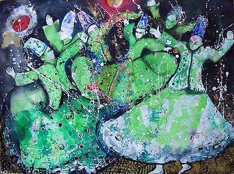 Dervishes by Pinki kumari Madawela