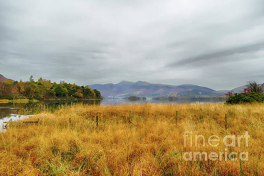 Derwent Valley and Skiddaw Autumn by Linsey Williams