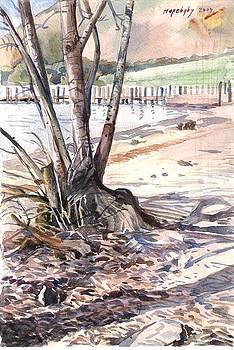 Derwent water Keswick England. by Hopebaby Pradit