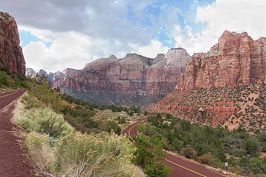 John M Bailey - Descending into Zion Canyon