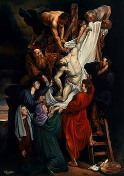 Descent from the Cross by Keith Martin Johns