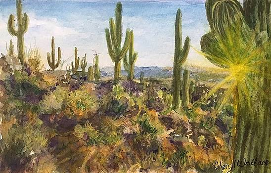 Desert at Dawn by Cheryl Wallace