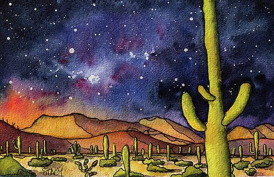 Desert at Night by Stacy Egan