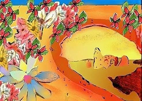Desert Bridge by Julia Woodman