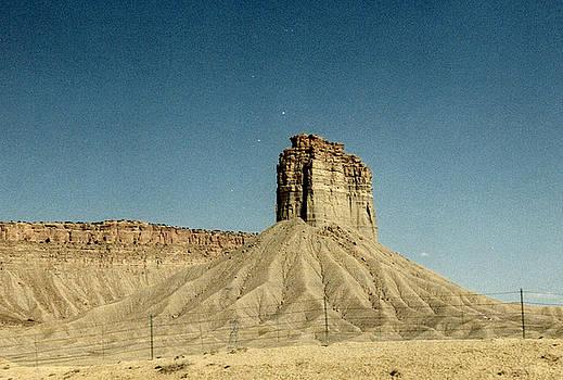 Desert Butte by CGHepburn Scenic Photos