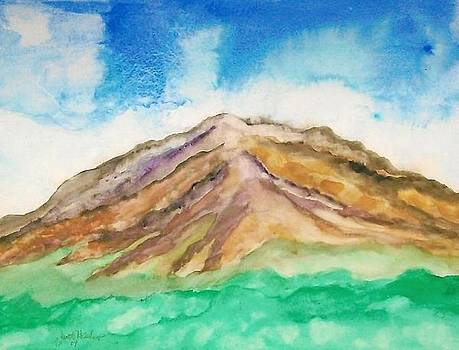 Desert Butte Storm 07-09 by Janet Hinshaw