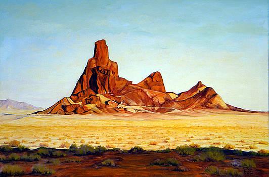 Desert Buttes by Evelyne Boynton Grierson