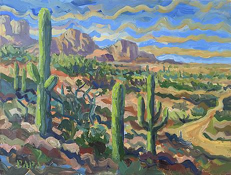 Desert by Tucson by Ralph Papa