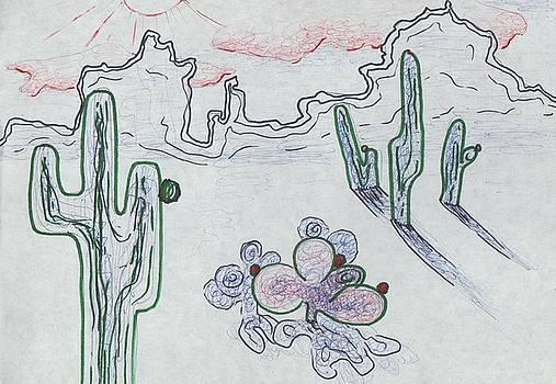Suzanne  Marie Leclair - Desert Cactus