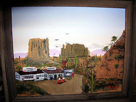 Desert Diner by William Plank