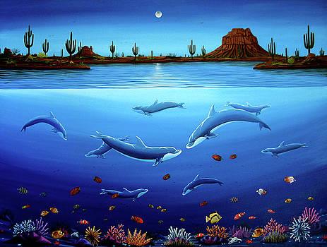 Desert Dolphins by Lance Headlee