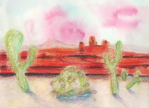 Suzanne  Marie Leclair - Desert Landscape