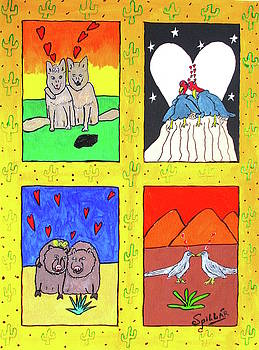 Desert Love by Charles Spillar