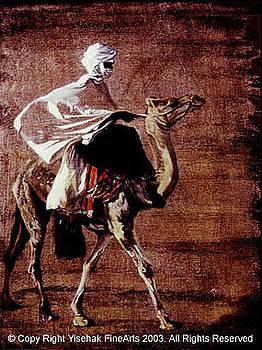 Desert Man by Yisehak Fikre-Sellassie