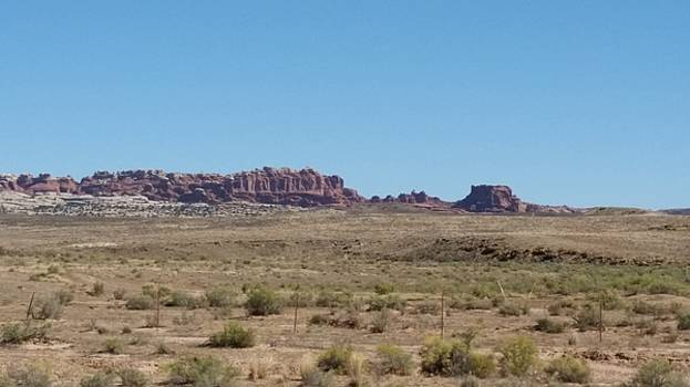 Desert Mesa New Mexico by Bret Sheppard