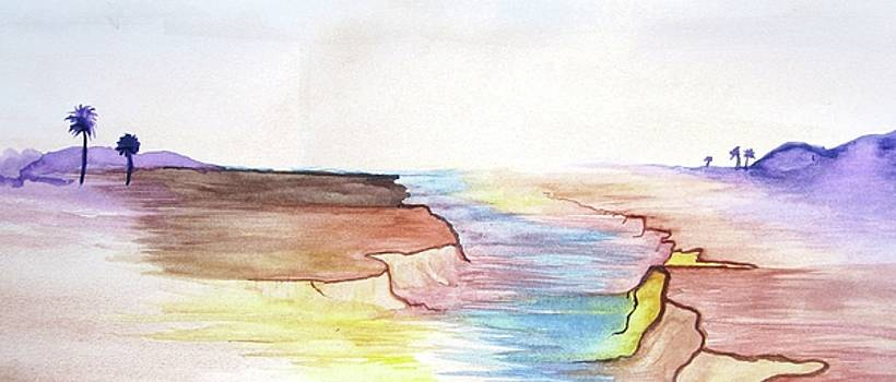 Desert Mirage by Mary Ellen Frazee