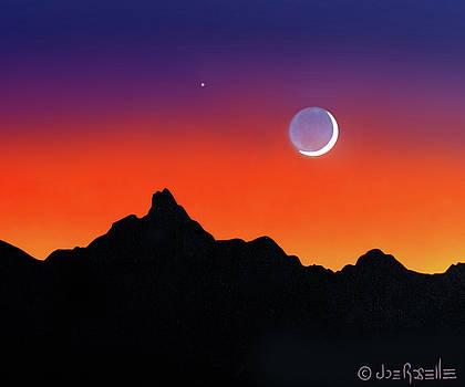 Desert Moon 2 by Joe Roselle
