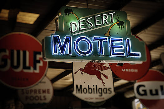 Desert Motel by Roland Peachie