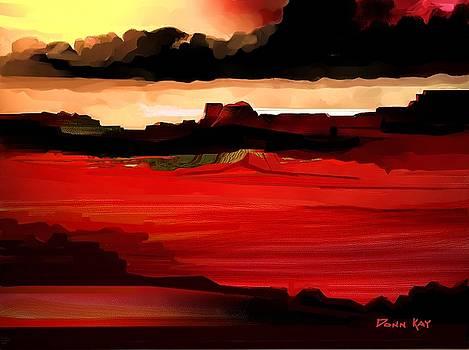 Desert Night by Donn Kay