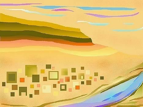 Desert River by Julia Woodman