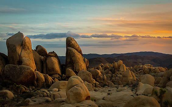 Desert Rocks by Ed Clark
