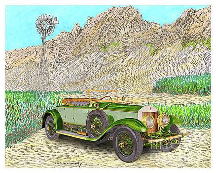Jack Pumphrey - Desert Rolls 1928 Rolls Royce Phantom I Roadster