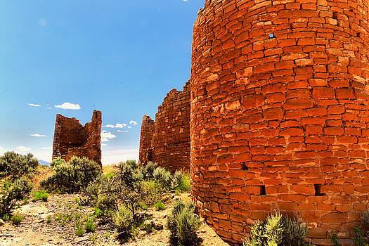 Desert Ruins Hovenweep by Jeff Swan