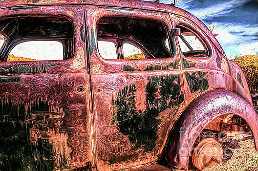 Desert Rust by David Lane