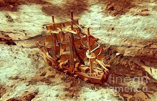 Desert Ship by Robert Jensen