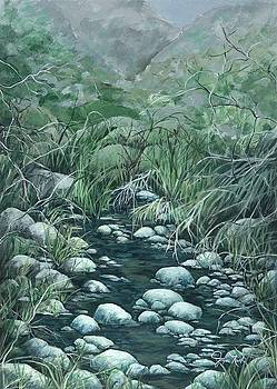 Desert Stream II by Joyce Nash