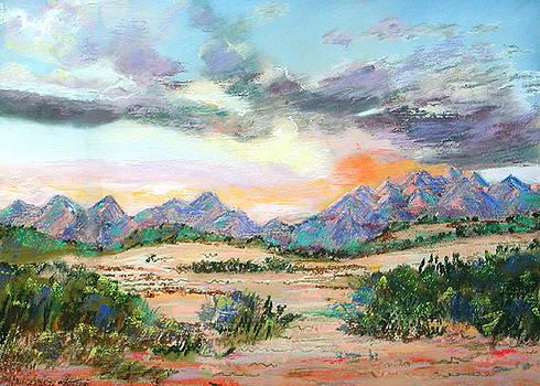 Desert Sunrise by Lucinda  Hansen