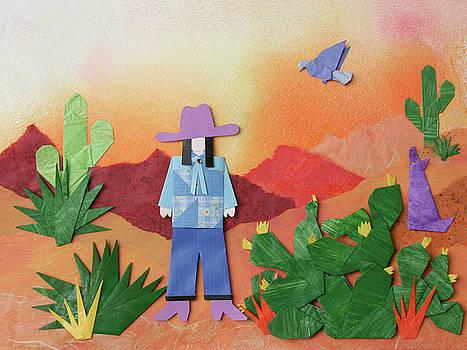 Desert Sunrise by Mary Ellen Palmeri by Lyric Artists