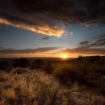 Desert Sunset by Matt Tilghman