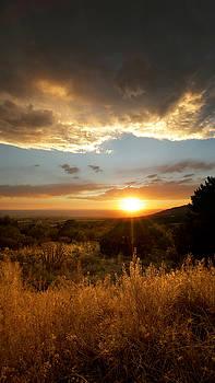 Desert Sunset over Albuquerque by Matt Tilghman
