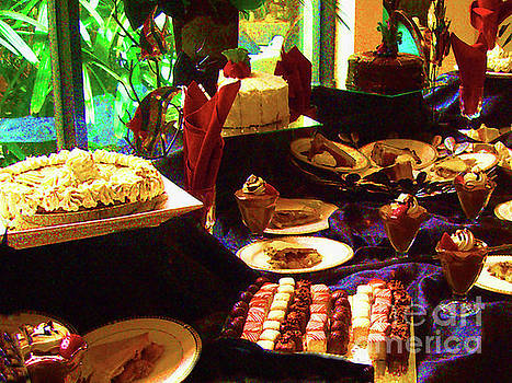 Dessert Table on Father's Day by Merton Allen