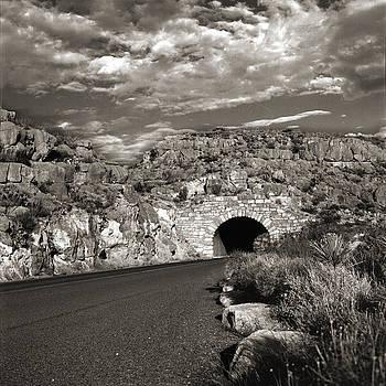 Desert Tunnel by Ana Turrubiartes